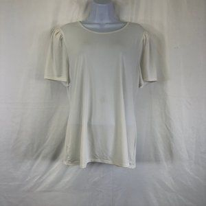 Philosophy Apparel Short Sleeve Crepe Knit Top